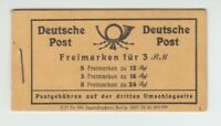 [72128] GERMANY 1946 ALLIED OCCUPATION NUMERALS BOOKLET Michel #MH50 MNH