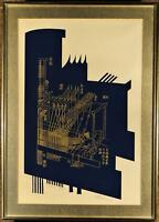 "Silkscreen//Serigraph Fine Art Poster Loading Hay by William Kurelek-24 X 32/"""