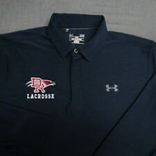 Under Armour Stretch Long Sleeve Polo Golf Shirt-L-Dr Lacrosse-Perfect!