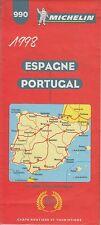 ESPAGNE-PORTUGAL / MICHELIN N°990 / 1998