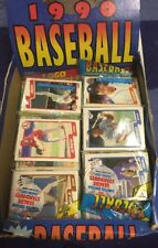 1990 FLEER Baseball Rack Pack 45 Cards JOSE URIBE ? Griffey 2nd year ?