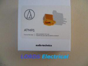 AUDIO TECHNICA ORIGINAL REPLACEMENT ATN91 STYLUS  FOR AT91 AT3600L AT90 CN5625AL