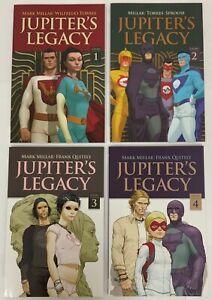 Jupiter's Legacy Complete 4 Volume Complete Set Netflix Editions Mark Millar