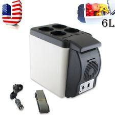 Portable Electronic Cooler Warmer Car Fridge Travel Vehicle Refrigerator 6L Sell