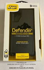 """NEW Otterbox Defender Series Case W/ Clip for Samsung Galaxy Note10 (6.3"""") Black"""