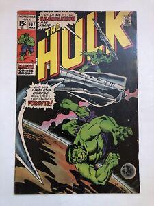 INCREDIBLE HULK # 137 VG HULK VS THE ABOMINATION Marvel Comics