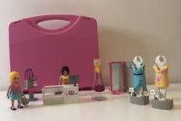 Playmobil 5611 City Life Clothes Shop Dressing Room Figures Carry along Case