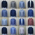 NWT ABERCROMBIE & FITCH MEN`S PLAID CLASSIC SHIRTS Long Sleeve SZ: S,M,XL,XXL