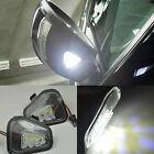 2x Error Free LED Side Mirror Puddle Light Vw Volkswagen CC 12-14 EOS Passat 11-