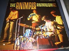 "THE ANIMALS RECORD SIGNED ERIC BURDON TITLE ""ANIMALISM"" MGM MINT! L@@K! PROOF!!!"