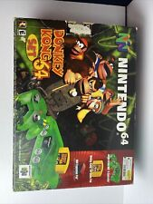 Nintendo 64 Donkey Kong Jungle Green Console Complete Box NUS-001 USA