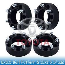 6x5.5 Wheel Spacers for Toyota 4-Runner 96-18, FJ Cruiser 07-14, Sequoia 01-17