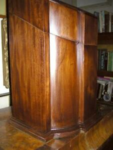 Fabulous Larger George III Large Knife Box in Solid Mahogany