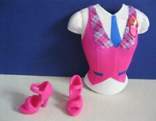 2010 Barbie Doll Princess Charm School BLAIR Transforming PLASTIC TOP/SHOES ONLY