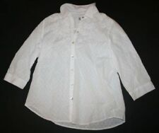 Embroidered Blouse 3/4 Sleeve Tops & Shirts for Women