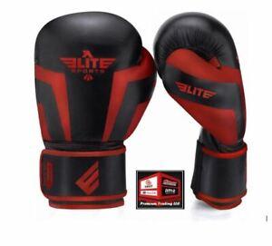 New, Elite Sports 2021 Pro Boxing Gloves for Men & Women, 16 oz.