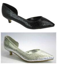 Wedding Court Low (3/4 to 1 1/2 in) Heel Height Heels for Women