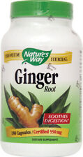 Ginger Root, Nature's Way, 180 capsules