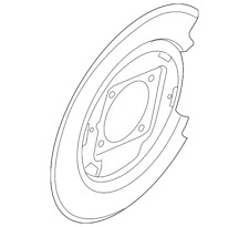 Genuine Nissan Backing Plate 44030-7S220