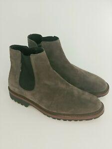 Mephisto Benson Men's Chelsea Zip  Boot sz. 8 Dark Grey Air Technology