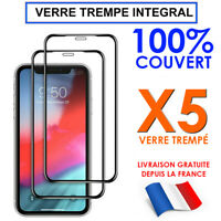 VITRE PROTECTION ECRAN INTEGRAL IPHONE 11 PRO MAX SE 2020 7 8 X XR VERRE TREMPE
