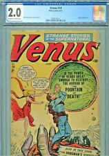 Venus #14 Jupiter Appearance Atlas Comics 1951 CGC Graded 2.0