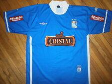 SPORTING CRISTAL SOCCER JERSEY Peru Futbol Club Team Umbro Licensed Blue #9 LG