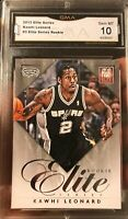 Kawhi Leonard Rookie Card 2012 Panini Elite Series Insert Gem Mint 10 Toronto