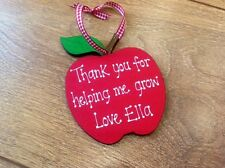 Personalised Apple Nursery Key Worker Gift Leaving Thank You for helping me grow