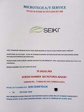 SEIKI SE40FY01UK   TP.SIS231.P83 V390HJ5  EPROM REPAIR KIT READ ADVERT