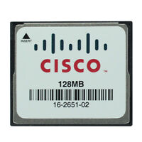Original Cisco 128MB CompactFlash CF Memory card Industrial Grade Memory Card