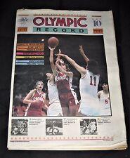 Vintage 1984 Los Angeles Olympics XXIIIrd Olympiad Record Newspaper-August 7th