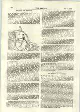 1896 Coal Supplied By Water Mr Justice Grantham Cycling Gears