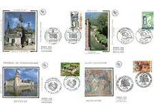 FDC - FRANCE 3079-3082 - SERIE TOURISTIQUE ARCHITECTURE