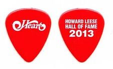 Heart Howard Leese Red Logo Guitar Pick 2013 Rock Hall of Fame Induction