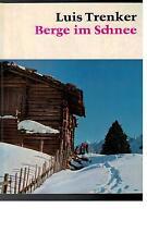 Luis Trenker - Berge im Schnee - 1961