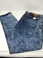 RARE Waimea Blue Jeans Men's Size 36x30 Distressed Skinny Fit Fast Shipping