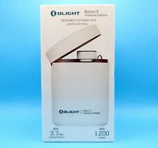 OLIGHT Baton 3 Premium Edition (White) With Charging Case Limited # 3555 of 7000