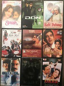 Hindi Language DVDs Kati Patang Sparsh Don Darr Shool Kaal Choose From List