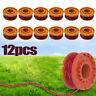 """For WORX WA0010 Replacement 10"""" Trimmer String Spools Grass Trimmer Line 12-Pack"""