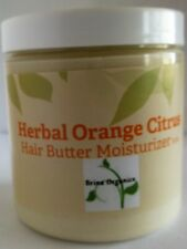 Orange Citrus Hair Cream Moisturizer 8 oz., Brina Organics