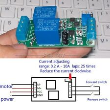12V DC Motor Reverse Control Controller 10A With Overload overcurrent Protection
