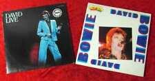 3 Langspielplatten DAVID BOWIE  - Vinylsammlung -