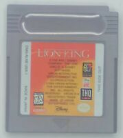 Lion King (Nintendo Game Boy GB, 1995) - Cartridge Only