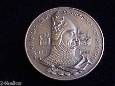 Rare Médaille Célébrant les 800 ans de la Création de MUNICH 1158/1958 / Monnaie