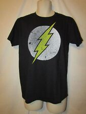 mens dc comics the flash t-shirt M nwot alternate black