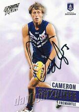 ✺Signed✺ 2013 FREMANTLE DOCKERS AFL Card CAMERON SUTCLIFFE