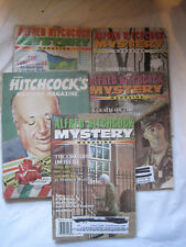 Vintage~Lot of 5~Alfred Hitchcock Mystery Magazines~LBDDT
