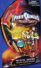 "Power Rangers Mystic Force 5"" Yellow Sound Talking Power Ranger New 2006"