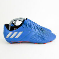 Adidas Messi Football Boots size 5.5 / 38 16.3FG Firm Ground Blue Silver